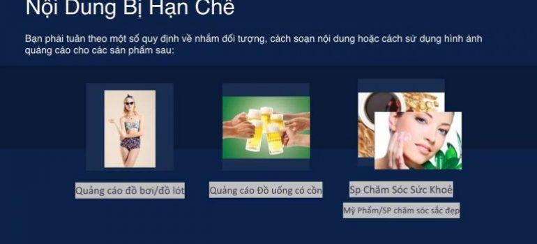 Những từ ngữ, nội dung bị CẤM trong chính sách quảng cáo Facebook ads